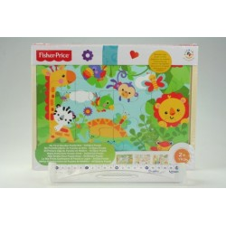 Dřevěné puzzle 3 v 1