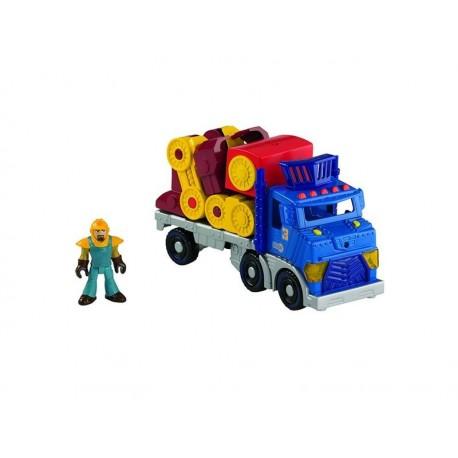 Imaginext Dobrodružné město - Velký tahač s robotem