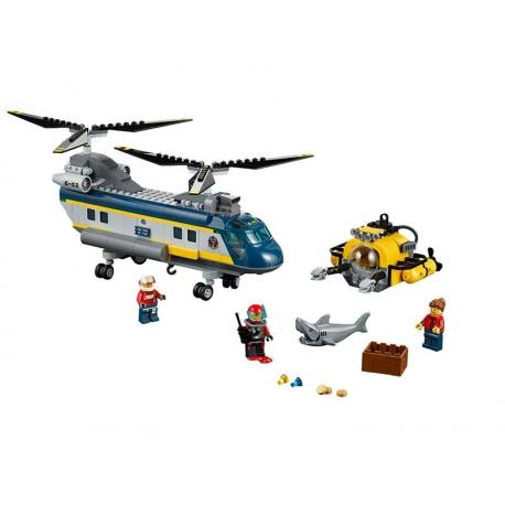 LEGO 60093 Vrtulník pro hlubinný mořský výzkum