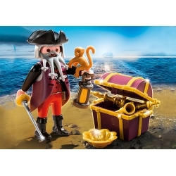 PLAYMOBIL 4783 Pirát s pokladem