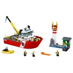 LEGO 60109 Hasičský člun