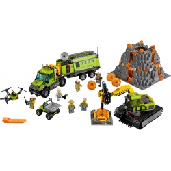 LEGO 60124 Sopečná základna průzkumníků